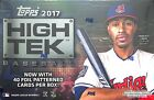 2017 Topps High Tek Baseball Sealed Box
