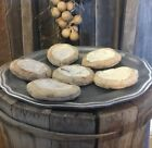 Primitive Aged Homestead Forever Cookies Set Of 6