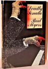 DEADLY SONATA by Paul Myers 1990 First US Edition Unread Crime Club NF F