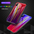 Ultra Thin Aurora Gradient Color Phone Back Case Protection For iPhne 6 7 8 Plus