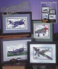 LEGENDARY AIRCRAFT War Planes Bomber 6 Designs Counted Cross Stitch Pattern