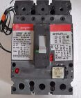 GE SELA36AT0100 with 100 amp rating plug, with shunt trip, used (e)