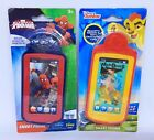 Spiderman & The Lion Guard Smart Phone Realistic Sound Toy [ Lot of 2 ] ~ NEW