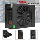 1600W Mining Power Supply For BTC For Antminer L3+D3 APW3 A6 A7 US STOCK MS