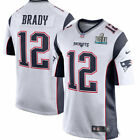 Nike New England Patriots Tom Brady Super Bowl LII 52 Game Jersey AUTHENTIC !!!