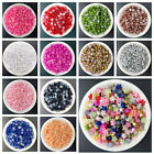 NEW 200pcs 6MM Small Multicolor Smooth Resin Star Flat Back Scrapbooking Craft