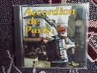 ACCORDION DE PARIS MARCEL FRANCOIS 1992 CD ALBUM