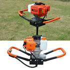 3HP 63CC 8500rmp Post Hole Digger Gas Powered Auger Borer Fence Drill Machine