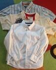 Kenneth Cole Boy's 3 pc Lot Size 6 Shirts tops Button Down