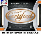 2018 Panini Certified Football 12 Box Factory Sealed Hobby Inner Case!