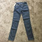 Diesel Zlim Stretch Dark Blue Jeans Womens Size 27 x 32 Straight Leg Slim Denim