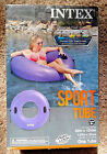 INTEX Sport Tube Inflatable Purple 42 X 105 Connect N Float System Tubing NEW