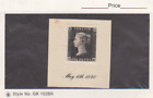Great Britain Scott  1 Proof on Card VF Penny Black Stamp MNH