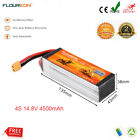 148V 45C 4500mah 4S XT60 Li Po Battery for Helicopter RC Airplane Car Boat FPV