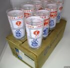 Set of 8 / 1964 New York Word's Fair Libbey Glasses In The Original Box