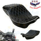 For Harley Electra Glide Ultra Classic FLHT Two UP Driver Passenger Seat 08 2015