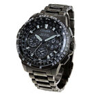 Citizen Analog Sportart Eco-Drive Satellite Wave Schwarz Herren CC9025-51E