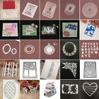 3D House Frame Metal Cutting Dies Stencil Scrapbooking Card Embossing Die Cut