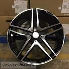 20 S65 AMG STYLE BLACK WHEELS RIMS FITS MERCEDES BENZ S300 S320 S430 S500 S550