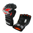 MMA Boxing Gloves Half Fighting Glove Muay Thai Training Breathable Male Fitness