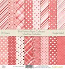 Pattern Paper Pack Pink Patterns Scrapbook Card Stock Single Sided 12x12