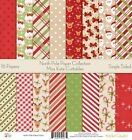 Pattern Paper Pack North Pole Scrapbook Card Stock Single Sided 12x12 C