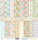 Pattern Paper Pack Easter Fun Scrapbook Card Stock Single Sided 12x12 C