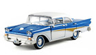 1958 Ford Fairlane Blue 1 32 Diecast Car Model by Arko Products