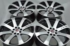 17 wheels Miata Cooper Spectra Prelude Accord Cobalt TL Civic 4x100 4x1143 Rims