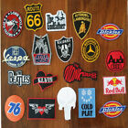 Iron Patch Mix Embroidered Sew Patches Applique Diy Lot Badge Cloth Logo Mixed
