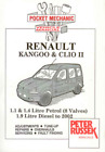 Workshop Manual Renault Kangoo Clio II Petrol Diesel 1998-2002 Service Repair