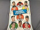 1969 Topps RARE Team Poster Detroit Tigers Condition is POOR