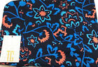 Lularoe  flowers on navy Print TC2 Legings NEW HTF!!!