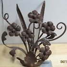 Old World Forged Wrought Iron Floral Design 18