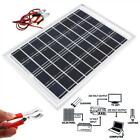 1000VDC 10W Cell Solar Panel Module Battery Charger RV Boat Camping 14M Cable