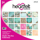 Heartfelt Creations Double Sided Paper Pad 12X12 24 Pkg Under The Sea 12 Desi