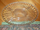 Vintage Relish Dish  Glass Divided Oval  Very Nice!