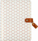 Color Crush A5 Faux Leather Planner Kit 75X10 Copper Hexagon