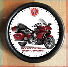 YAMAHA STAR VENTURE RED 2018 Motorcycle BIG 10 Inch Wall clock New Licensed
