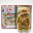 TY McDonald's Germania the Bear Beanie Baby 2000 New in Box FREE FAST SHIPPING