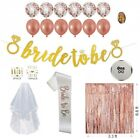 Bachelorette Party Decorations Rose Gold Bridal Shower Gifts Set Bride to Be