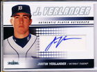 2005 FLEER AUTHENTIC PLAYER AUTOGRAPH #FA-JV JUSTIN VERLANDER AUTO RC 078 300