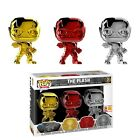 FUNKO POP! THE FLASH: CHROME SDCC 2018 SHARED EXCLUSIVE 3-PACK