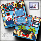 DISNEY MAGIC CRUISE 2 premade scrapbook pages paper piecing layout CHERRY 0003
