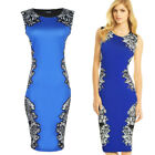 Womens Celebrity Business Ruched Wear To Work Casual Party Bodycon Pencil Dress