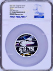 850 Mintage 2018 Star Trek The Original Series Ships 2oz Silver Coin NGC PF70 FR
