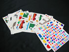 Lot of lLarge Block Stickers MRS GROSSMANS