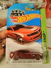 Hot Wheels 2014 Super Treasure Hunt 2013 Chevy Camaro Special Edition bx4