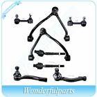 8pc Front Control Arm Tie Rod End Sway Bar Suspension Kit for 03-04 Kia Sorento