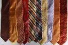 LOT OF 24 IKE BEHAR  MEN'S TIE 100% SILK MADE IN USA-CHINA